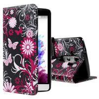 Motive koženkové pouzdro na LG G3 - kouzlení motýlci