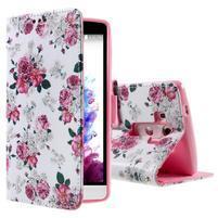Motive koženkové pouzdro na LG G3 - květiny