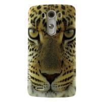 Gélový kryt pre mobil LG G3 - leopard