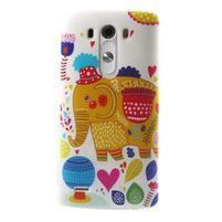 Silks gélový obal pre mobil LG G3 - slon