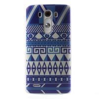 Silks gélový obal pre mobil LG G3 - geo tvary