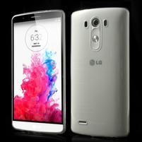 Ultratenký slim obal pre mobil LG G3 - transparentný