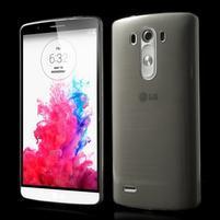 Ultratenký slim obal pre mobil LG G3 - sivý