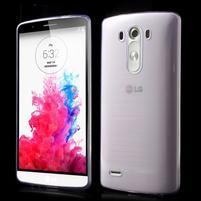 Ultratenký slim obal pre mobil LG G3 - fialový