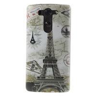 Ultra slim 0.6 mm gélový obal LG G3 s - Eiffelova veža