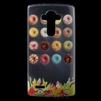 Softy gélový obal pre mobil LG G4 - donuts