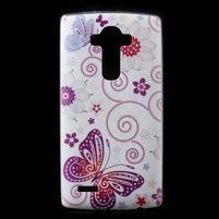 Softy gelový obal na mobil LG G4 - motýlek