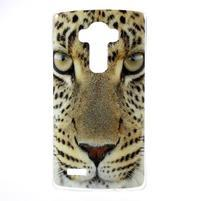 Jells gélový obal pre mobil LG G4 - leopard