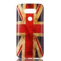 Gelový obal na mobil LG G5 - UK vlajka