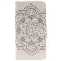 Obrázkové koženkové puzdro pre LG G5 - mandala