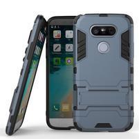 Odolný kryt pre mobil LG G5 - šedomodrý