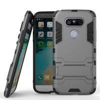 Odolný kryt pre mobil LG G5 - sivý