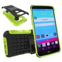 Outdoor odolný obal pre mobil LG G5 - zelený