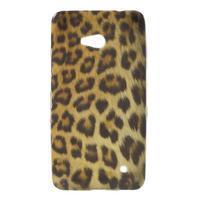 Gélový obal pre Microsoft Lumia 640 - leopard