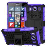 Outdoor odolný kryt pre mobil Microsoft Lumia 950 - fialový