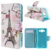 Peňaženkové puzdro pre Microsoft Lumia 950 - Eiffelka