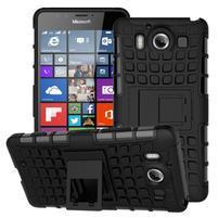 Outdoor odolný kryt pre mobil Microsoft Lumia 950 - čierny