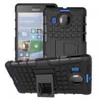 Odolný outdoor obal pre mobil Microsoft Lumia 950 XL - čierny
