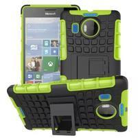 Odolný outdoor obal na mobil Microsoft Lumia 950 XL - zelený