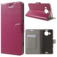 Horse Peňaženkové puzdro pre Microsoft Lumia 950 XL - rose