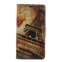 Emotive PU kožené puzdro pre BlackBerry Priv - Eiffelka