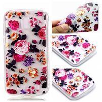 Printy gélový obal na Nokia 1 - kvety