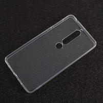 Transparentný gélový obal na Nokia 6.1