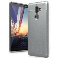 IVS gélový odolný obal s textúrou na Nokia 7 Plus - šedý