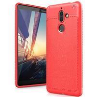 IVS gélový odolný obal s textúrou na Nokia 7 Plus - červený