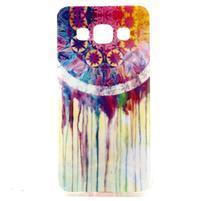 Gélový obal pre Samsung Galaxy A3    - stékající farby