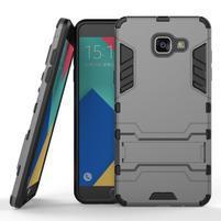 Odolný kryt pre mobil Samsung Galaxy A5 (2016) - šedý
