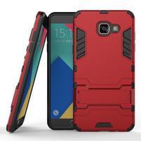 Odolný kryt na mobil Samsung Galaxy A5 (2016) - červený