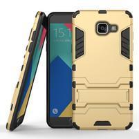 Odolný kryt na mobil Samsung Galaxy A5 (2016) - zlatý
