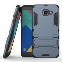 Odolný kryt na mobil Samsung Galaxy A5 (2016) - šedomodrý