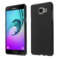 Matný gélový kryt pro Samsung Galaxy A5 (2016) - čierný