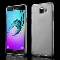 Matný gélový kryt pro Samsung Galaxy A5 (2016) - biely