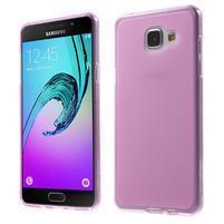 Matný gélový kryt pro Samsung Galaxy A5 (2016) - rose