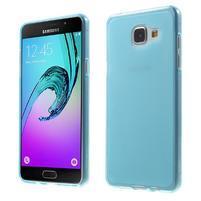 Matný gelový kryt pro Samsung Galaxy A5 (2016) - modrý