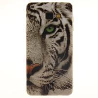 Softy gélový kryt pre Samsung Galaxy A5 (2016) - biely tiger