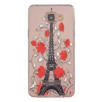 Transparentní gelový obal na Samsung Galaxy A5 (2016) - Eiffelova věž