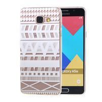 Silk Gelový obal na mobil Samsung Galaxy A5 (2016) - geo tvary