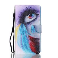 Puzdro s motívom pre Samsung Galaxy A5 (2016) - farebné oko