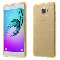 Cube gélový kryt pre Samsung Galaxy A5 (2016) - zlatý