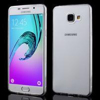 Ultratenký slim gelový obal na Samsung Galaxy A5 (2016) - transparentní