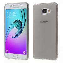 Ultratenký slim gélový obal pre Samsung Galaxy A5 (2016) - šedý