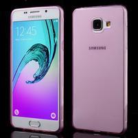 Ultratenký slim gelový obal na Samsung Galaxy A5 (2016) - rose