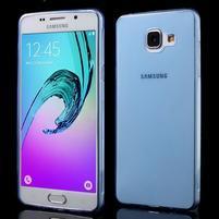 Ultratenký slim gélový obal pre Samsung Galaxy A5 (2016) - modrý