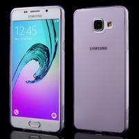 Ultratenký slim gélový obal pre Samsung Galaxy A5 (2016) - fialový