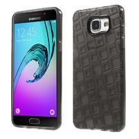 Square gelový obal na mobil Samsung Galaxy A5 (2016) - šedý