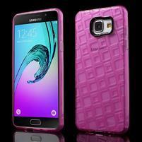 Square gélový obal pre mobil Samsung Galaxy A5 (2016) - rose